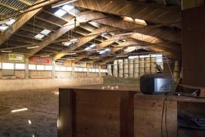Reithalle am  Reit- und Zuchthofes Strobl im Salzkammergut